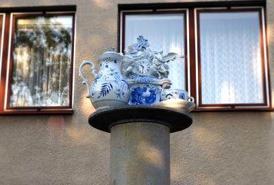 Budovy porcelánky
