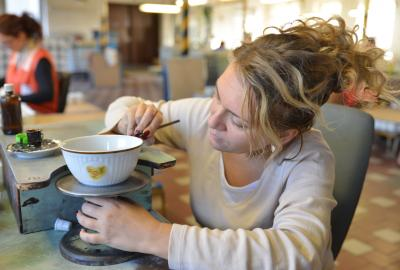 Výroba porcelánu v Dubí