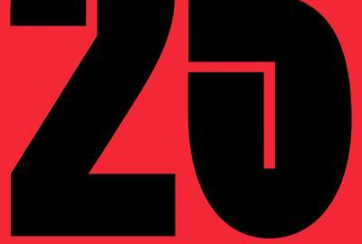 Plakát k výstavě 25 let ateliéru Design keramiky FUD UJEP