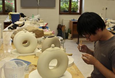 Experimentální keramická dílna ateliéru Design Keramiky FUD UJEP